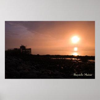 Bayside Maine Poster - 1