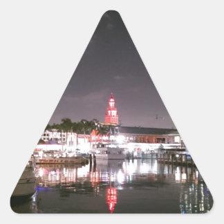 Bayside Market place Miami Triangle Sticker