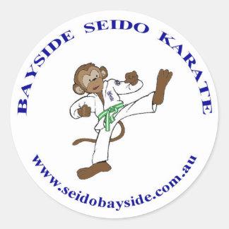 Bayside Monkey in Seido Gi Sticker