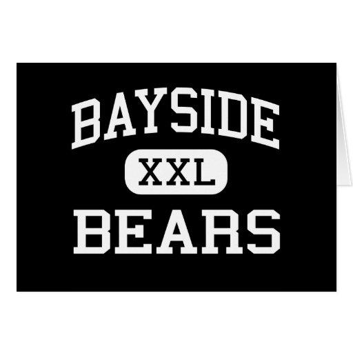 Bayside - osos - High School secundaria - bahía la Tarjeta De Felicitación