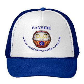 Bayside Seido Daruma Daishi Blue Cap Trucker Hat