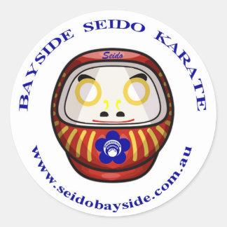 Bayside Seido Daruma Daishi Sticker