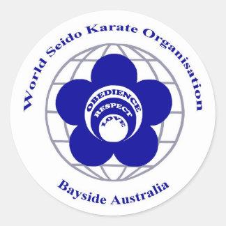 Bayside Seido Karate Sticker