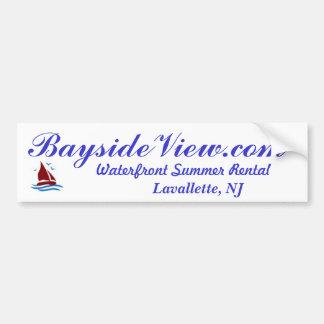 BaysideView.com Lavallette NJ Bumper Sticker