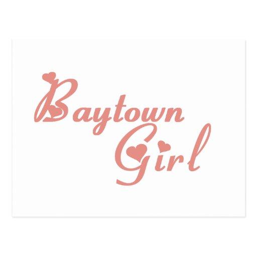 Baytown Girl tee shirts Post Cards