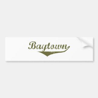 Baytown Revolution tee shirts Car Bumper Sticker