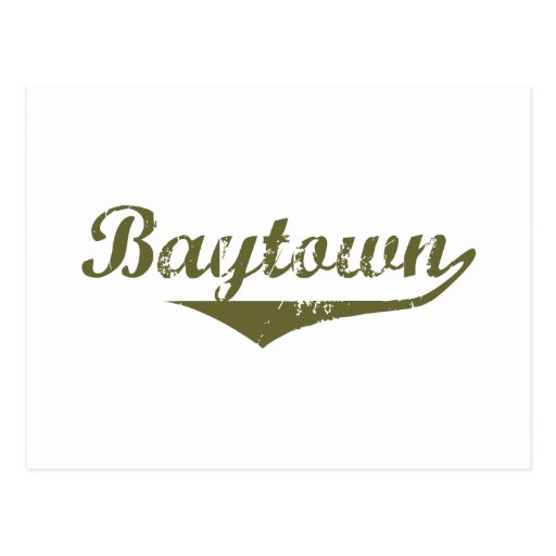 Baytown Revolution tee shirts Post Cards