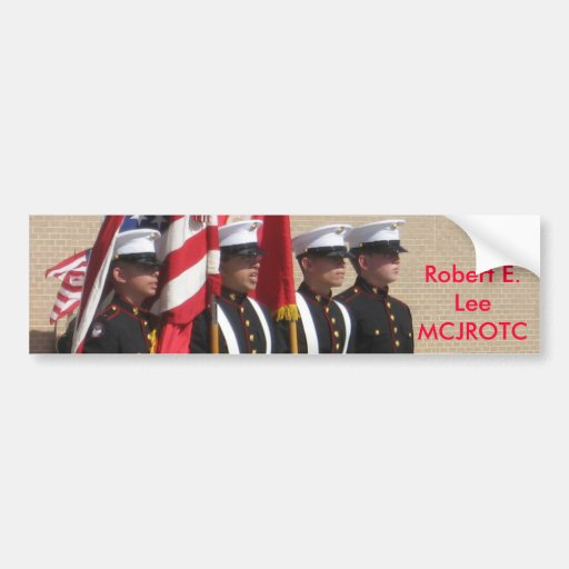 Baytown Robert E. Lee MCJROTC Bumper Stickers