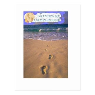 Bayview RV Campground Destin Florida Postcard