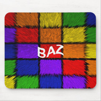 BAZ ( male names ) Mouse Pad