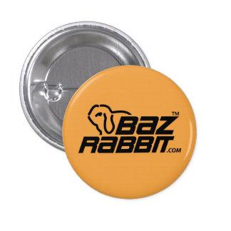 BAZ Rabbit Pinback Button