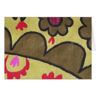 Bazaar Bayar Golden Suzani Card