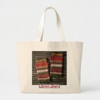 Bazaar Bayar Knitted Fingerless Gloves Large Tote Bag
