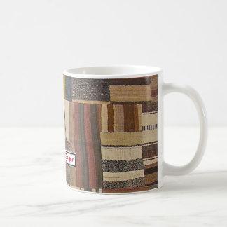 Bazaar Bayar Recycled Rug Chocolate Coffee Mug