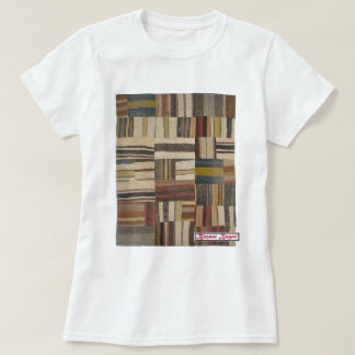Bazaar Bayar Recycled Rug Chocolate T-Shirt