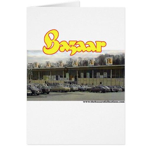 Bazaar Exterior Circa 1980 Card