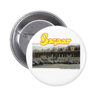 Bazaar Exterior Circa 1980 Pinback Button