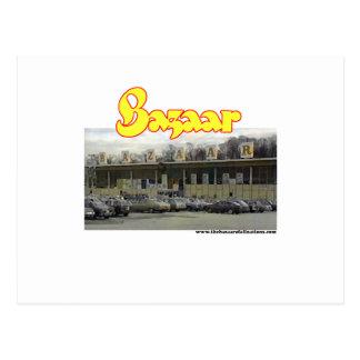 Bazaar Exterior Circa 1980 Postcard