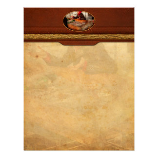 Bazaar - I sell fish Personalized Letterhead