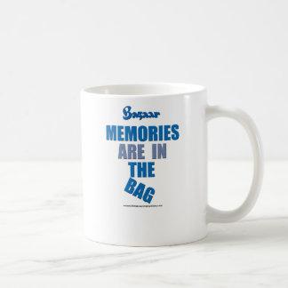 "Bazaar ""Memories Are In the Bag: Coffee Mug"