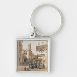 """Bazaar of the Coppersmiths, Cairo, from """"Egypt and Keychain"""