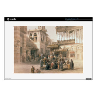 """Bazaar of the Coppersmiths, Cairo, from """"Egypt and Laptop Decal"""