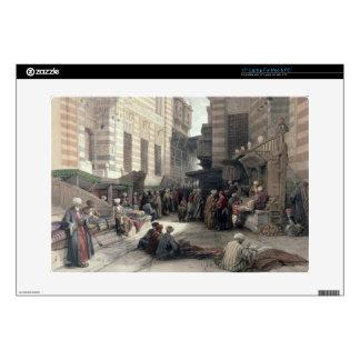 """Bazaar of the Silk Merchants, Cairo, from """"Egypt a 15"""" Laptop Skins"""