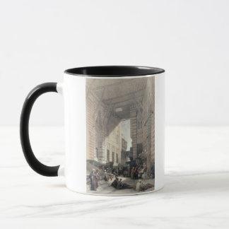 """Bazaar of the Silk Merchants, Cairo, from """"Egypt a Mug"""
