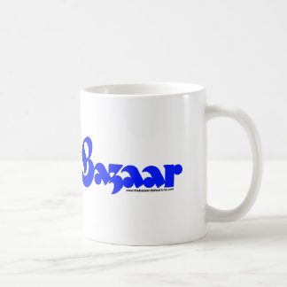 Bazaar Retro Font Coffee Mugs