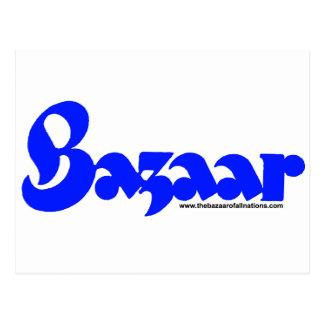 Bazaar Retro Font Postcard