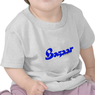 Bazaar Retro Font Tee Shirt