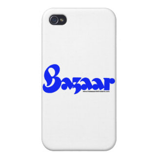 Bazaar Retro Script iPhone Case iPhone 4 Cases
