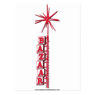 """Bazaar """"Sputnik"""" Logo Postcard"""