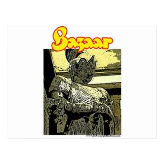 "Bazaar ""The Knight"" Postcard"