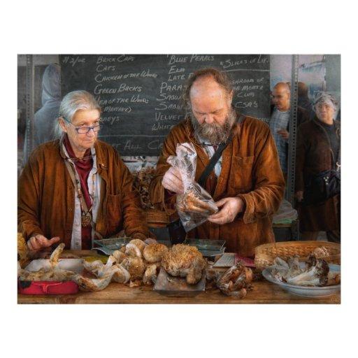 Bazaar - We sell fresh mushrooms Flyers