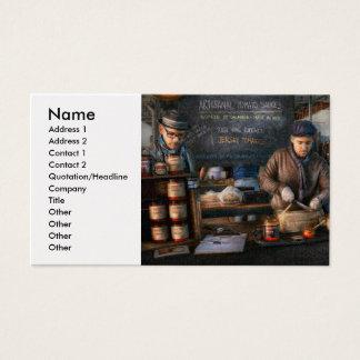 Bazaar - We sell tomato sauce Business Card