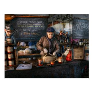 Bazaar - We sell tomato sauce Postcard