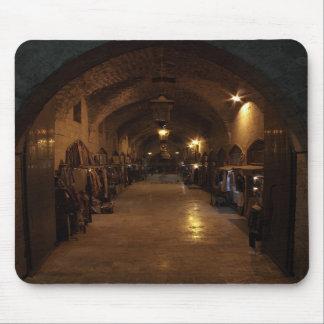 Bazar árabe de la artesanía de Alepo - Siria Orien Alfombrillas De Ratón