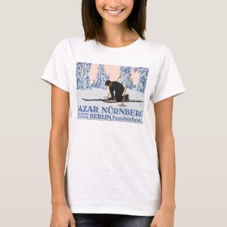 Bazar Nurnberg_Vintage Travel Poster Artwork T-Shirt