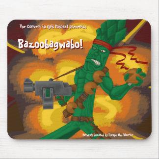 ¡Bazoobagwabo! Cojín de ratón Alfombrillas De Ratón