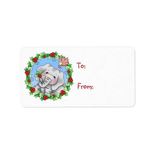 BaZooples Elsie Holiday Gift Tag