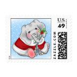 BaZooples Elsie Holiday Postage Stamp