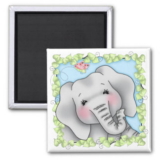 BaZooples Elsie the Elephant Magnet