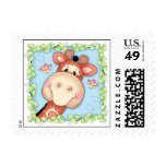 BaZooples Gertrude the Giraffe Postage Stamp