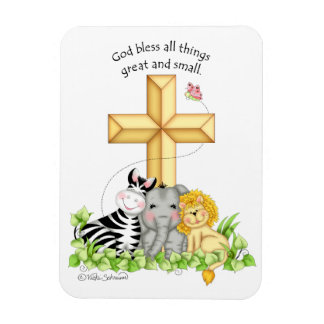 BaZooples God Bless All Things Magnet