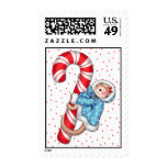 BaZooples Holiday Monkey Stamp