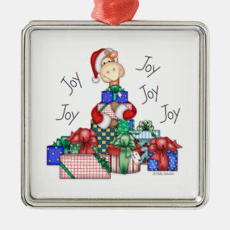 """BaZooples """"Joy Joy Joy"""" Ornament"""