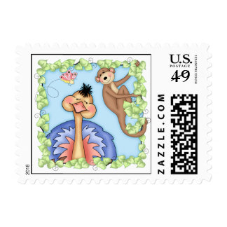 BaZooples Ollie & Max Postage Stamps