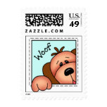 BaZooples Puppy Postage Stamp