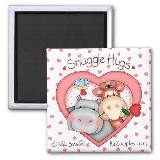 "BaZooples ""Snuggle Hugs"" Love Magnet"
